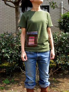 {a}hemp&cotton T-shirt