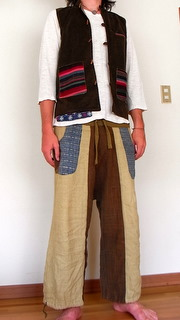 {a} laos pocket pants